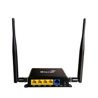 Router wi fi repeater 5dbi antennas with sim card slot and built in hardware watchdog VPN wireless router openwrt