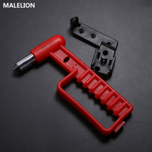 Mini Bus Essential Hand Grip Safety Hammer Red Life-Saving Car Emergency Escape Broken Window Tool For Save