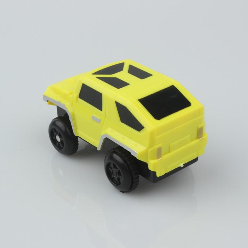 Mini Race Track Car Racing Cars Truck Vehicles LED Flashing Car ...