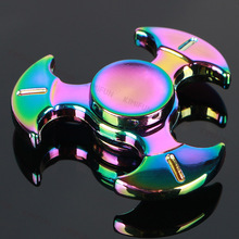 MINI Colorful OMAHAWK Fidget Toy Hand Spinner For Autism and ADHD Kids/Adult Funny Anti Stress 606 steel Bearing KIMIFUN