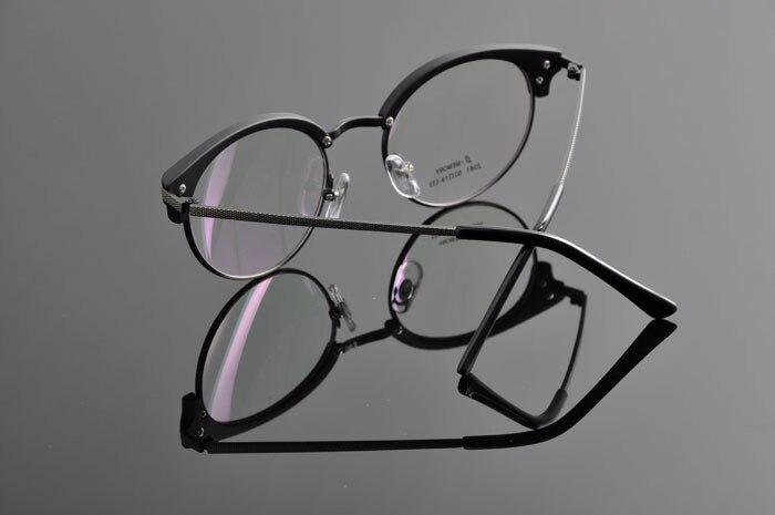 DEDING винтажные очки ретро Женская оправа с линзами при миопии Мужские Рецептурные очки оправа модные очки DD0886