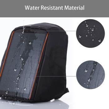 HAWEEL 12W Flexible Solar Panel Power Backpack  3