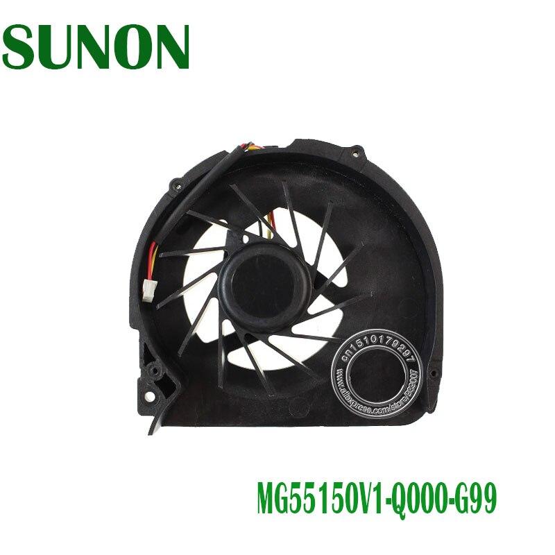 3-PIN MG60090V1-Q000-S99 CPU Fan For Acer Aspire 5536 5738 5738Z Laptop