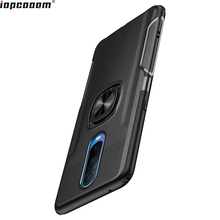 купить Phone Case For OPPO R17 Pro Case luxury Finger Ring Magnetism Stand Shockproof Car stand Armor back cover For OPPO R17 Pro Coque дешево