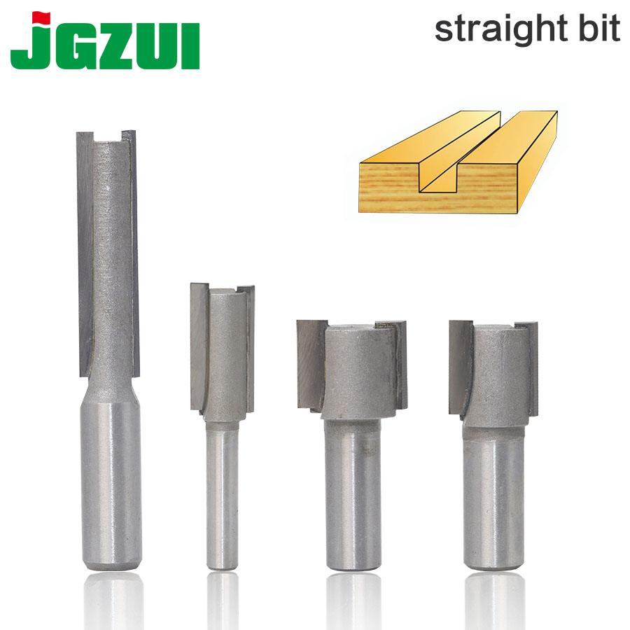 1PC 1/4Shank 1/2 Shank High Quality Straight/Dado Router Bit  Diameter Wood Cutting Tool