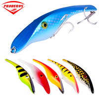 8pcs/lot Top Fishing Lure 5.5 14cm/1.467oz 37.27g Fishing Tackle 8 Colors with 2/0# Hook Fishing Baits
