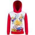 Dragon Ball 3d printing children spring models hoodies boy and girl sweatshirt coat