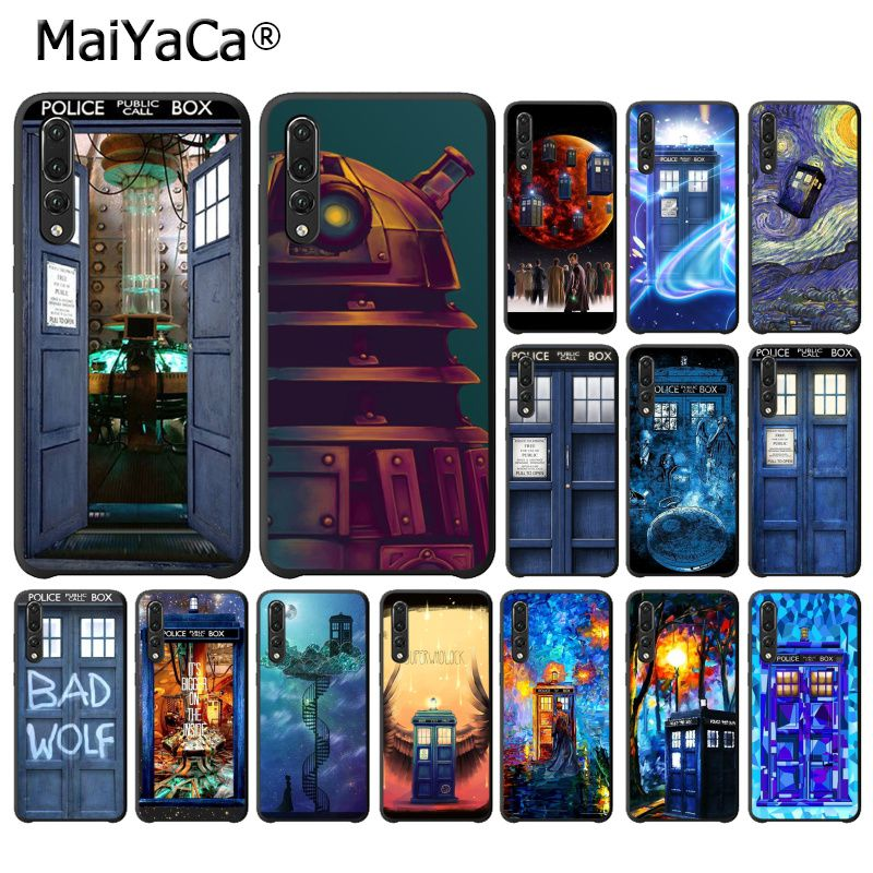 Phone Bags & Cases Maiyaca Tardis Box Doctor Who Soft Phone Case For Huawei P20lite P10 Plus Mate10lite Mate20 P20 Pro Honor10 View10 Pure And Mild Flavor Cellphones & Telecommunications