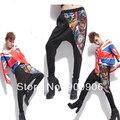 Newest  Fashion HipHop Womens Casual  Harem Baggy Trousers Graffiti Dance  Slacks SweatPant