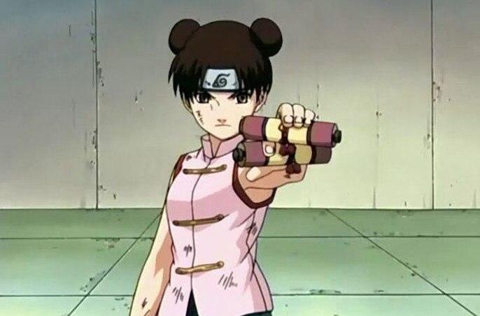 NARUTO Tenten Anime Cosplay Handmade Blattern In Aus Kostum Requisiten Auf AliExpress