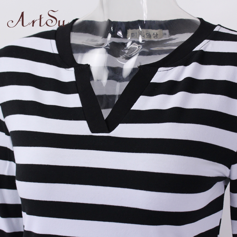 230b65895c6b ArtSu Γυναικεία Tops 2017 Μακρυμάνικα Μπλούζες Casual T-Shirts ...