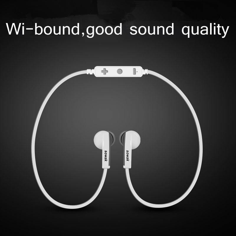 Bluetooth Headset Wireless Earphone Bluetooth Earpiece Sport Running Stereo Earbuds for iPhone 7 6 5Plus font
