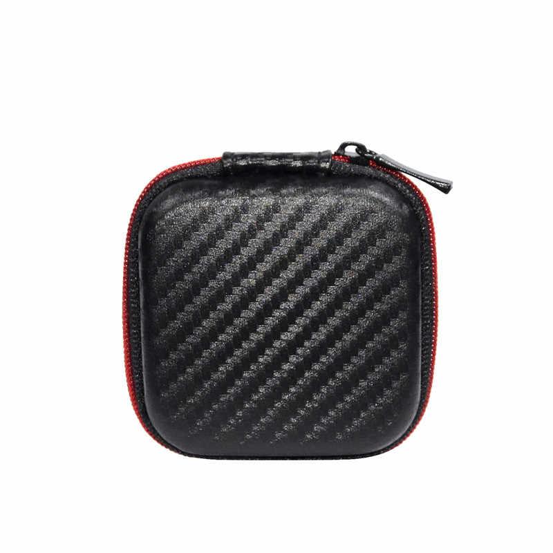 Nowy futerał na słuchawki KZ zestaw słuchawkowy Bluetooth kwadratowy przenośny zestaw słuchawkowy na kompresję EVA etui z suwakiem do zst es4 zsx zs10 pr