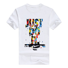 Nike Just do it 2019 Fashion Hot Style Color JUST DO IT Cotton Men's T-shirt Casual Short  Sleeve