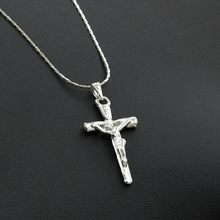 Jesus Cross Necklace Jewelry Pendant Accessories Chain