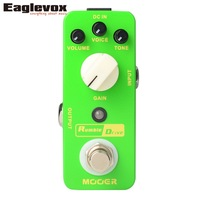 Mooer Rumble Drive Overdrive Electric Guitar Effect Pedal True Bypass MOD2