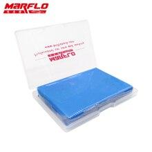 MARFLO 1pc Magia Barra de Argila Limpa Barro Bar Auto Detalhamento Cleaner Lavador de Carro Azul 100g