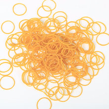 100PCS/1 bags Good Quality Rubber Bands Strong Elastic Hair Band Loop Office School Stationery Holder Supplies(China)
