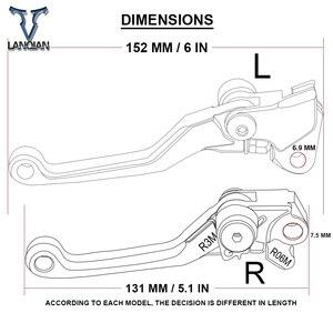 Image 5 - Saleté vélo frein dembrayage leviers moto CNC aluminium levier pour Yamaha YZ250 YZ 250 2001 2002 2003 2004 2005 2006 2007