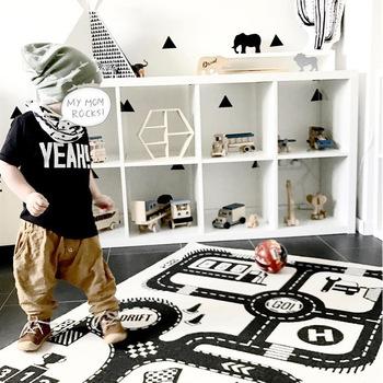 Mata do zabawy dla dzieci zamek dla dzieci samochód mata dla niemowlęcia sypialnia dywan do salonu dla dzieci dywan dywan dla dzieci mata rozwijająca się PJ-007 tanie i dobre opinie Cała 3 lat 8 lat 13-24 miesiące 6 lat 14 lat 3 lat 0-12 MIESIĘCY SOFT Do nauki Sport 1 cm 90*140 cm HPBBKD
