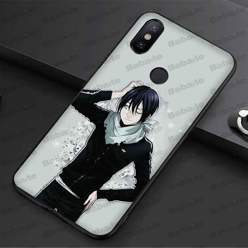 Babaite Noragami Anime Macio TPU Silicone case Capa Do Telefone Para redmi 5 plus 5A 6pro 4X note5A note4x note7 6A coque