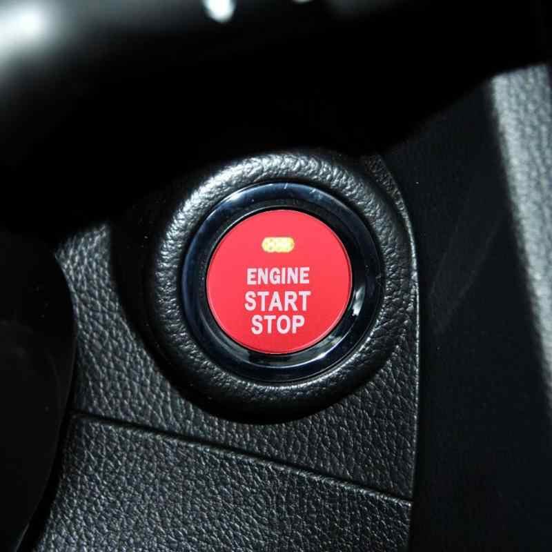 מנוע Start Stop לחצן כיסוי לקצץ לסובארו BRZ אימפרזה פורסטר אאוטבק