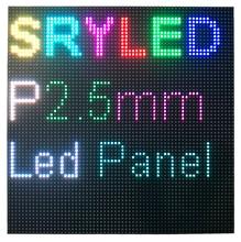 64x64 بكسل داخلي P2.5 Led وحدة عرض مصفوفة HD Led لوحة 160 مللي متر x 160 مللي متر
