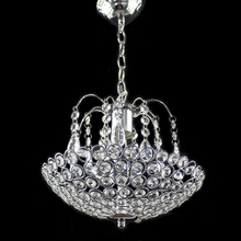 Iron Crystal American Style Modern Chandeliers E27 LED Lighting for living room kitchen bedroom