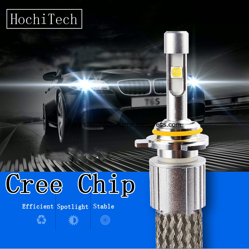 HochiTech H1 H4 H7 H8 H9 H11 9005 HB3 9006 HB4 100W 9600LM White Car LED HeadLight Bulb Kit High Low Beam Bulb Automobile Lamp car light cob chip h4 h13 9004 9007 hi lo beam h7 9005 hb3 9006 hb4 h11 h9 h1 h3 9012 auto led headlight bulb 8000lm 12v 6500k