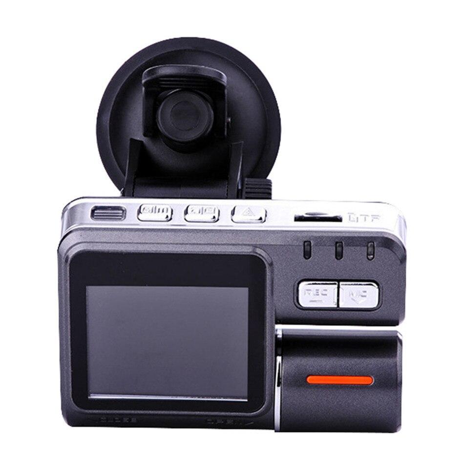 Hot i1000 DVR Car Camera Full HD 1080P Dual Lens Dash Cam Video Recorder Camera Night