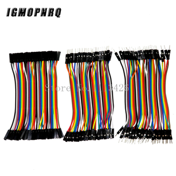 Dupont line 1200pcs 10cm male to male + male to female and female to female jumper wire Dupont cable 2.54