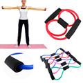 1pcs Fitness Exercise Tube Yoga Equipment Slimming Band Resistance Training Muscle Elastic Weight Control Band