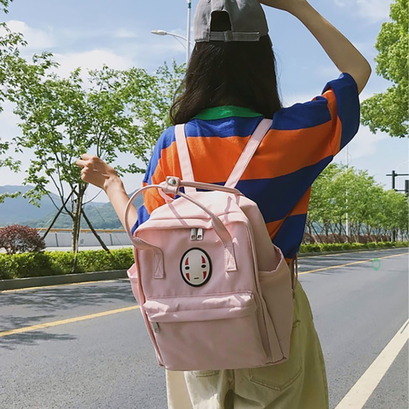 Girls Students Backpack Bag Korean College Student Schoolbags Campus Canvas Back Pack Bagpack Femlae Fashion Backpacks in Backpacks from Luggage Bags
