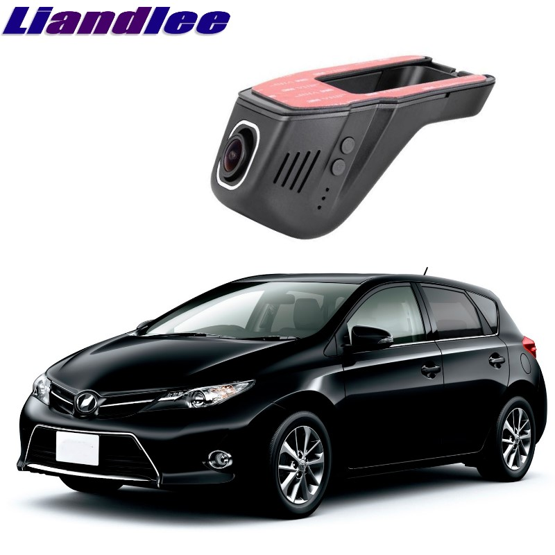 Liandlee For Toyota Auris / Corolla E150 E180 2006~2018 Car Black Box WiFi DVR Dash Camera Driving Video Recorder цена