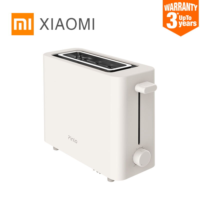 US $28.89 18% OFF|XIAOMI MIJIA Pinlo Mini Toaster PL T050W1H toasters oven  baking kitchen appliances breakfast bread sandwich maker fast safety-in ...