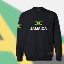 Jamaica hoodie men sweatshirt sweat suit hip hop streetwear tracksuit nation footballer sporting country new flag JAM Jamaican