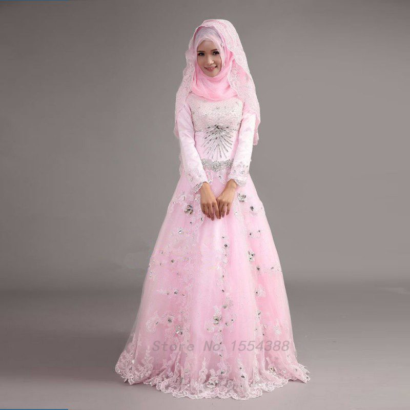 Popular muslim wedding dress buy cheap muslim wedding for Cheap muslim wedding dresses