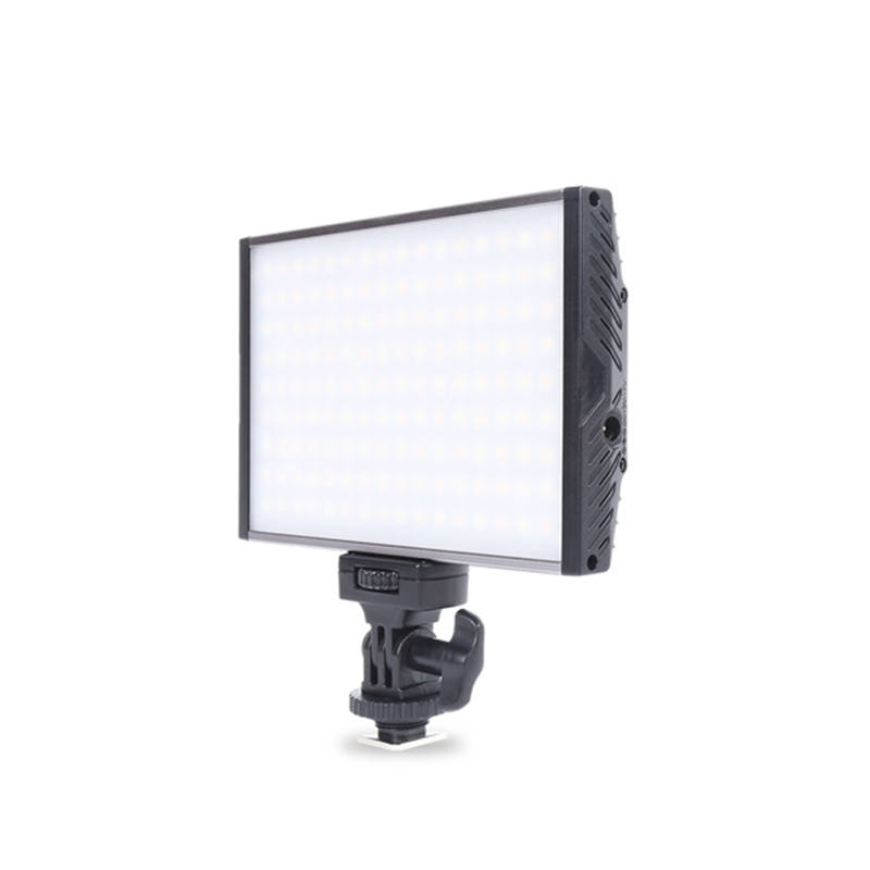 PT-15B 15W Aluminum Alloy LED Photography Camera Video Camcorder Light for Outdoor DSLR Camcorder Cool +Warm Uniform Lights