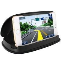 Auto Phone Dashboard GPS Holder Prevent Sunshine Anti Slip Silicone Phone Holder Mount Bracket Clip 3
