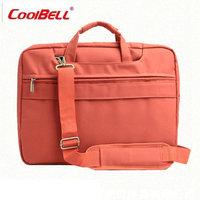 Colored Computer Bag Shockproof Notebook Handlebag Waterproof Shoulder Handbag 15 Inch Laptop Computer Bag For Unisex