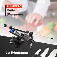 Knife Sharpener Ruixin Pro II All Iron Steel Professional Chef Knife Sharpener Kitchen Sharpening System Fix