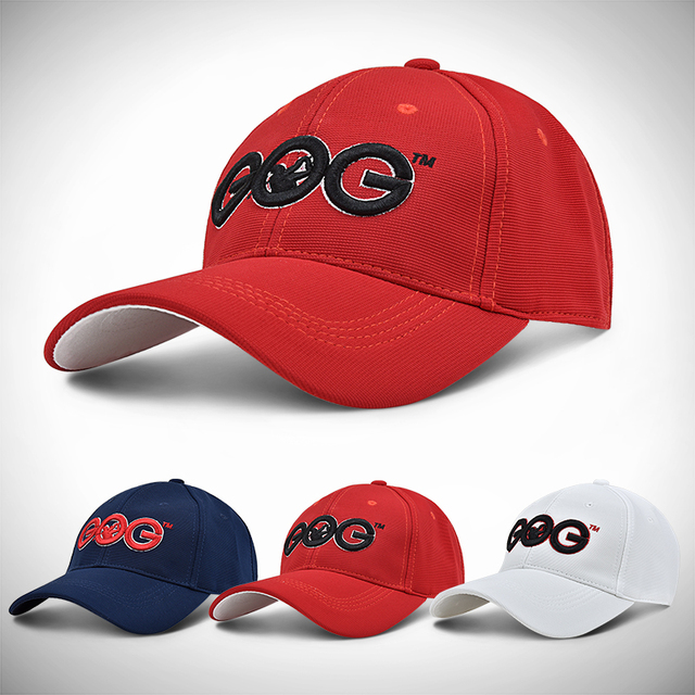 1ad8e3657dd 2017 Brand New GOG golf Caps Professional cotton golf ball cap High Quality sports  golf hat breathable sports golf hats