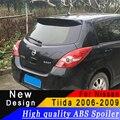 Спойлер на крышу для Nissan Tiida от 2006 до 2019  высококачественный ABS спойлер праймер или любой цвет  задний спойлер для Nissan Tiida