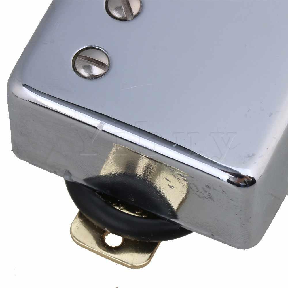 Yibuy 2pcs เงิน 70x36x18 มม.7.2 K 15K Humbucker Double COIL Pickups ไม่มีกรอบสำหรับกีตาร์ไฟฟ้า