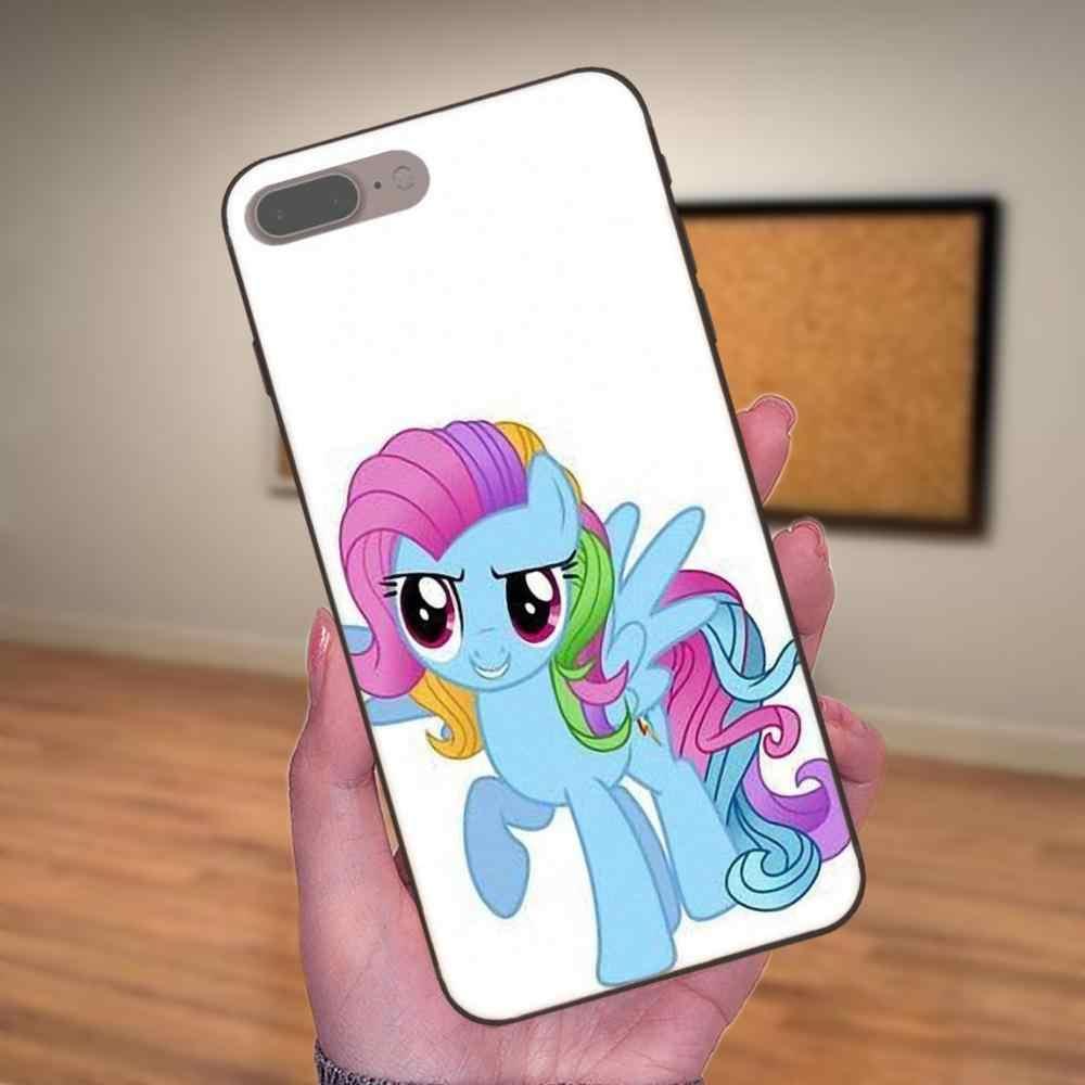 Мой Маленький Пони Флаттершай для Xiaomi mi x Max Note 2 2 S 3 5X6X8 9 SE A1 A2 Lite Play Pro F1 телефон случаях