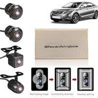 KROAK 360องศาPanoramicรถยนต์CamดูนกHD 4กล้องที่จอดรถบันทึกกล้องDVR USBระบบบัตรTF