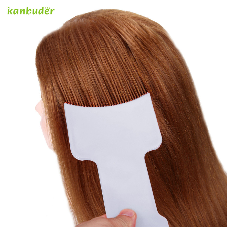 Kanbuder Professional Hairdressing Hair Dye Color Bowl Good Quality Color Brush Tint Tools Women's Dye Hair Brush 1PC Pretty