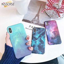 KISSCASE Star Sky Case voor Xiao mi mi 9 8 se hard cases Patroon Case voor Xiao mi Rode mi opmerking 7 pro 5 pocophone F1 fundas Back Cover(China)