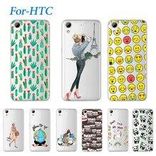 Moda jovem impressão suave caixa do telefone para htc desire 626 626g 626g + linda silicone macio tpu casos de cobertura para htc 626