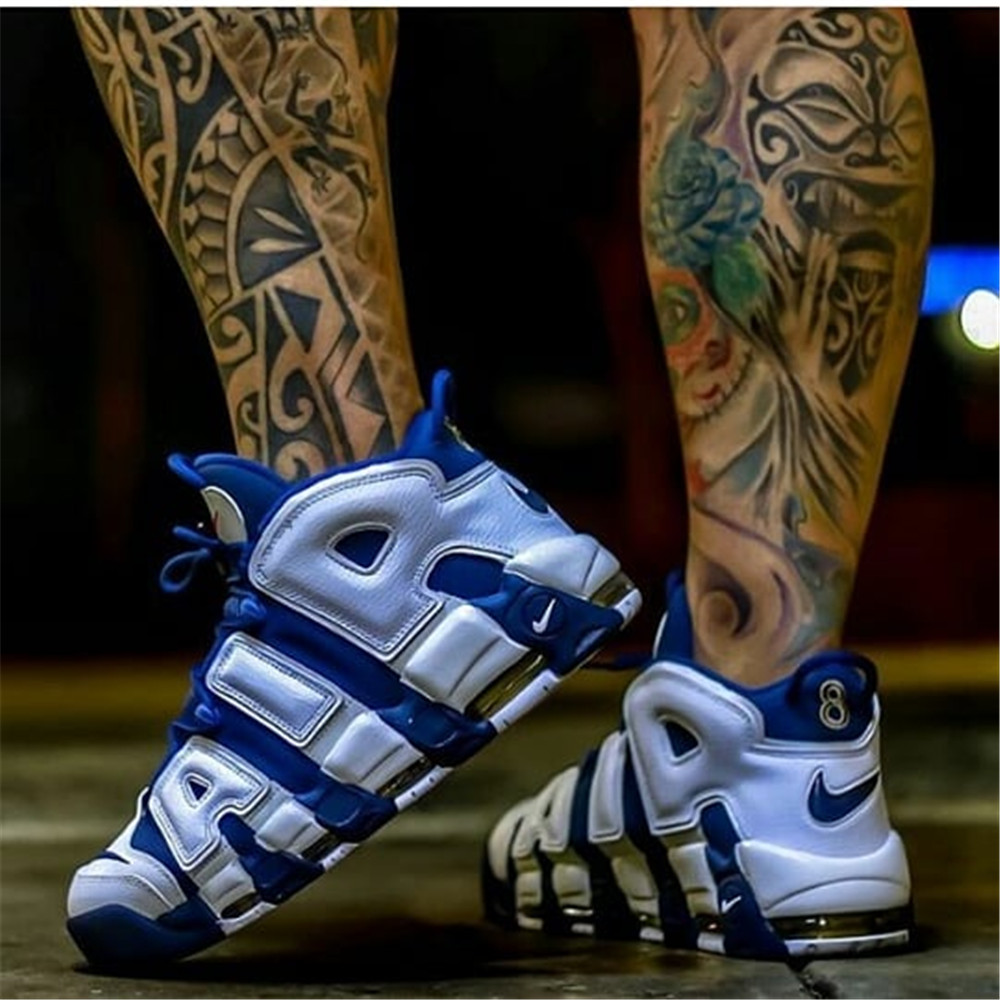 11f5844cc Authentic Nike Air More Uptempo Men's Breathable Basketball Shoes Sports  Sneakers New Arrival Top Quality-in Basketball Shoes from Sports &  Entertainment on ...